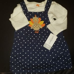 Just in time for Thanksgiving Baby Girl Outfit.